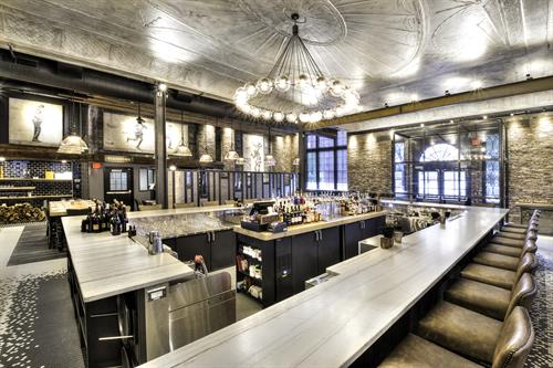 Spatial Planning & Systematic Design: Ledger Restaurant & Bar in Salem, MA (Photo via Ledger)