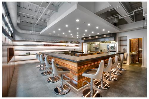New Concept and Design-Build: Tasting Counter in Somerville, MA (Photo via McMahon Architects)