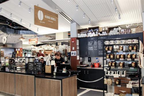 Quick Service Café Opening: George Howell Coffee Company in the Boston Public Market (Photo via GHC)