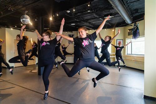 High school dancers