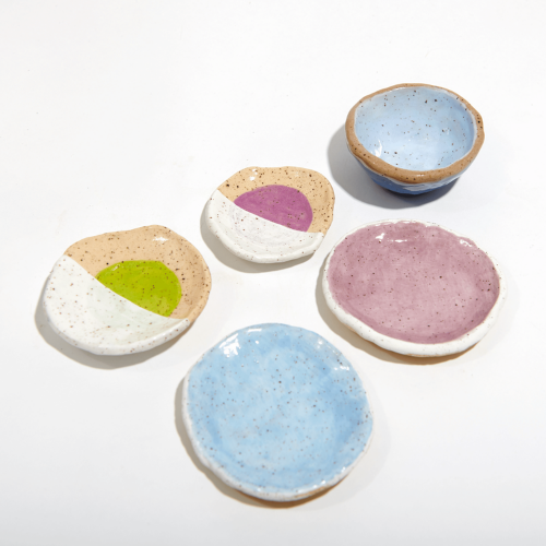 Ceramic Clay Creations made with our Deluxe Kit