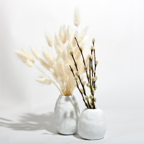 Vases made with our Air Dry Clay Kit