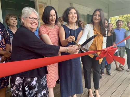 Ribbon Cutting, Sept 2019 of Suzuki School's new home