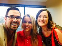 We wore red for World Aids Day December 1st 2015. Johnny Walker, Agent, Camille Newton, Office Manager and Katrina Clark, Multi-Line Representative.