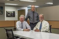 Firm Principals, from left: Michael Gorman, AIA, Steve Lewis, AIA; Scott Richardson, AIA, LEED AP
