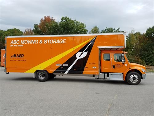 ABC Moving Truck