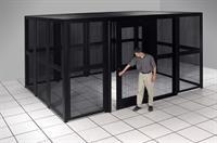 Data Center Partitioning Cages
