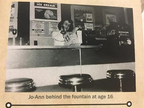 Jo-Ann at 16 opening day