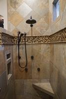 Upgraded Shower.