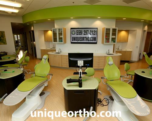 Clean and Modern Treatement Area