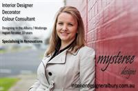 Interior Designer, Decorator & Colour Consultant in the Albury Wodonga & surrounding areas. Visit www.mystereedesigns.com.au for more information or pricing structure