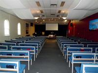 The River Community Church, David Street Albury. Chapel interior colours & furniture reupholstering