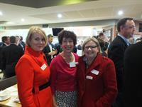Women In Chamber representatives, Sandra Martin, Natalie Shephard & Mell Millgate