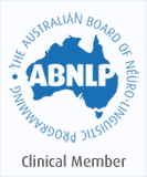 Clinical Member of the Australian Board of Neuro Linguistic Programming