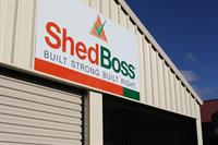 On your way to see us on Wagga Road?  Look out for the sheds and our logo!