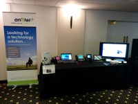 Anittel Albury attends the Albury Northside Chamber of Commerce IT Expo