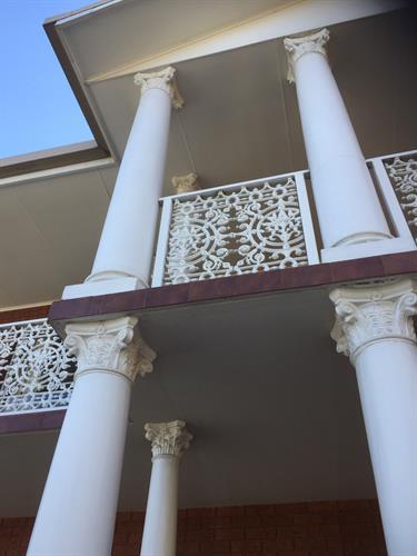 Impressive Corinthian Pillars