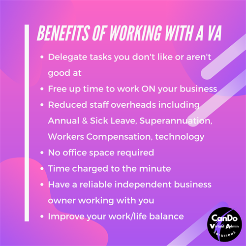 Benefits of Working with a VA