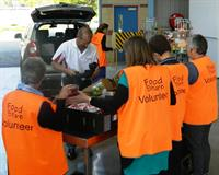 Filming at Albury Wodonga Regional Foodshare for our new tv commercial