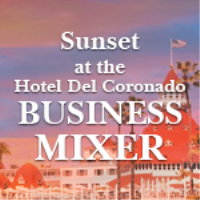 Sunset at the Hotel Del - Business Mixer