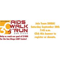 AIDS Walk & Run San Diego - Team SDEBA