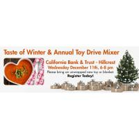 "Taste of Winter & Annual ""Toys for Kids"" Holiday Toy & Blanket Drive"