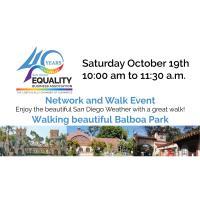 Network & Walk - Balboa Park