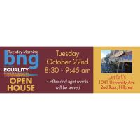 Tuesday Morning BNG Open House at Lestat's Hillcrest