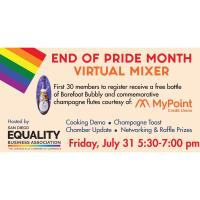 End of Pride Month Virtual Mixer