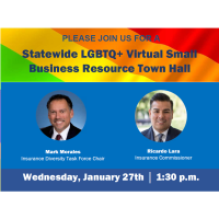 California Statewide LGBTQ+ Virtual Small Business Resource Town Hall