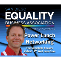 Power-Lunch Networking May 12 2021 w/ Sen. Toni Atkins