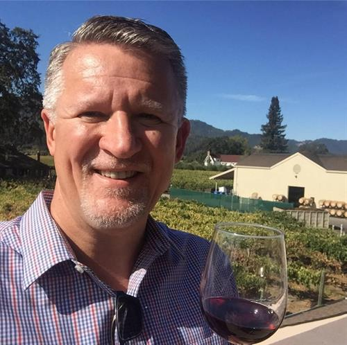 Enjoying Napa!
