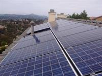5.035 kW system installed in El Cajon on concrete tile roof.