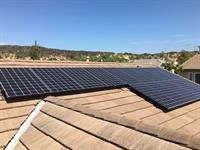 3.92 kW system installed in Del Mar on concrete tile roof.