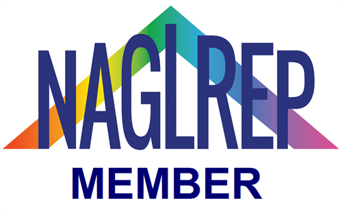 PROUD member of The National Association of Gay and Lesbian Real Estate Professionals (NAGLREP)