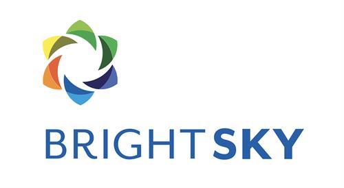 Logo, Client: Bright Sky