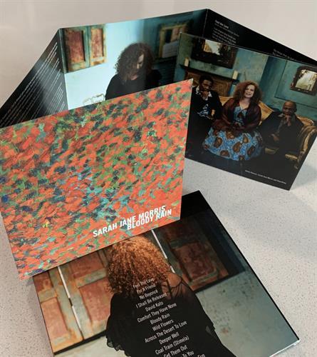 CD Packaging, Client: Sarah-Jane Morris