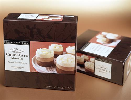 Food Packaging, Client: Galaxy Desserts