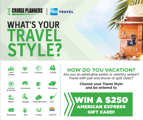 Cruiseplanners Travel Style