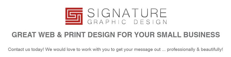 Signature Graphic Design