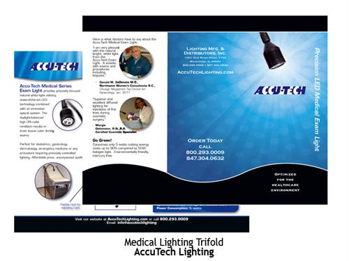 Accutech Manufacturing Trifold