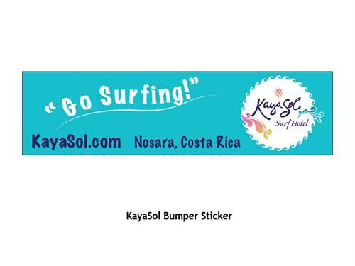 Kayasol another bumper sticker