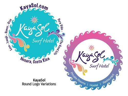 Kayasol Logo and Bumper Stickers