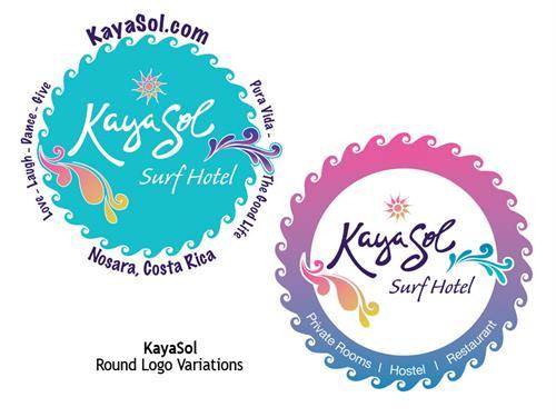 Kayasol Logo and Bumper Stickers
