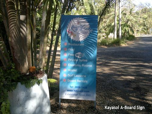 Kayasol Outdoor Banner