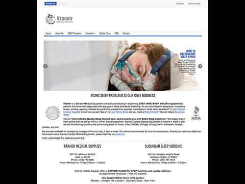 Kramer Medical Supplies - eCommerce Site