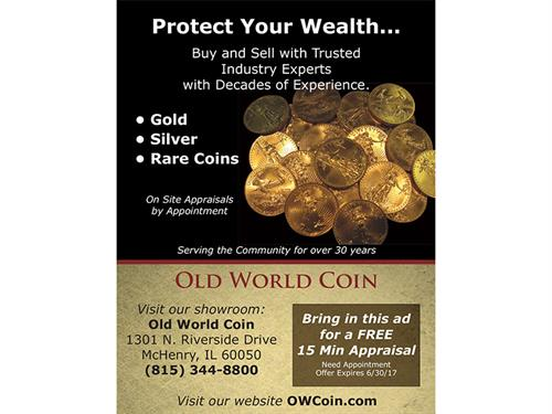 Old World Coin Flyer