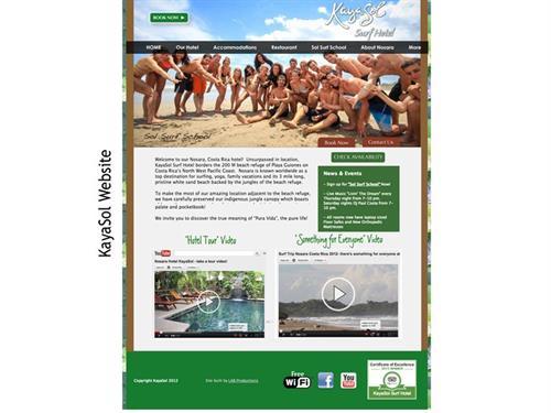 Kayasol Surf Hotel - Costa Rica