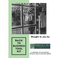 Local Chambers Develop Back to Business Tool Kit To Aid in Reopening the Local Economy