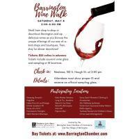Enjoy a Sipping Saturday at the Barrington Wine Walk May 8